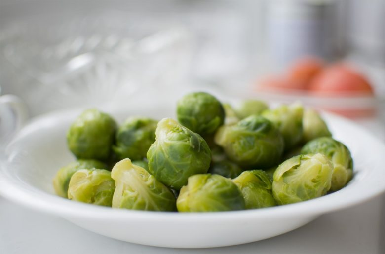 Small heads of Brussels sprouts, on one plant - from 20 to 100 pieces.